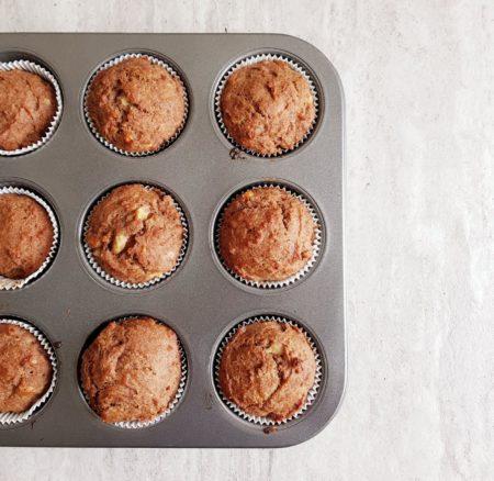 Wegańskie muffiny bananowe – nowy przepis