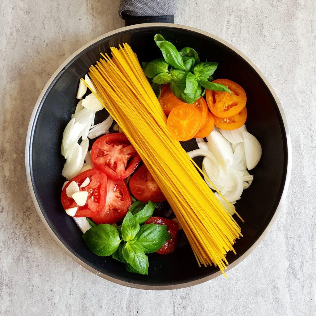 włoska pasta z 1 garnka