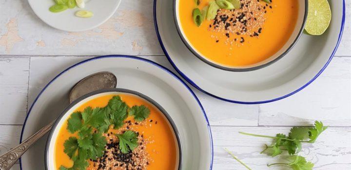 Zupa z dyni z azjatycką nutą