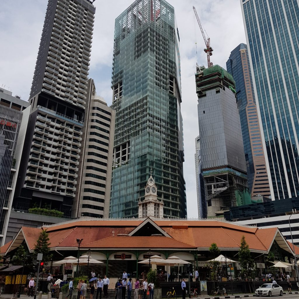 zwiedzić Singapur city