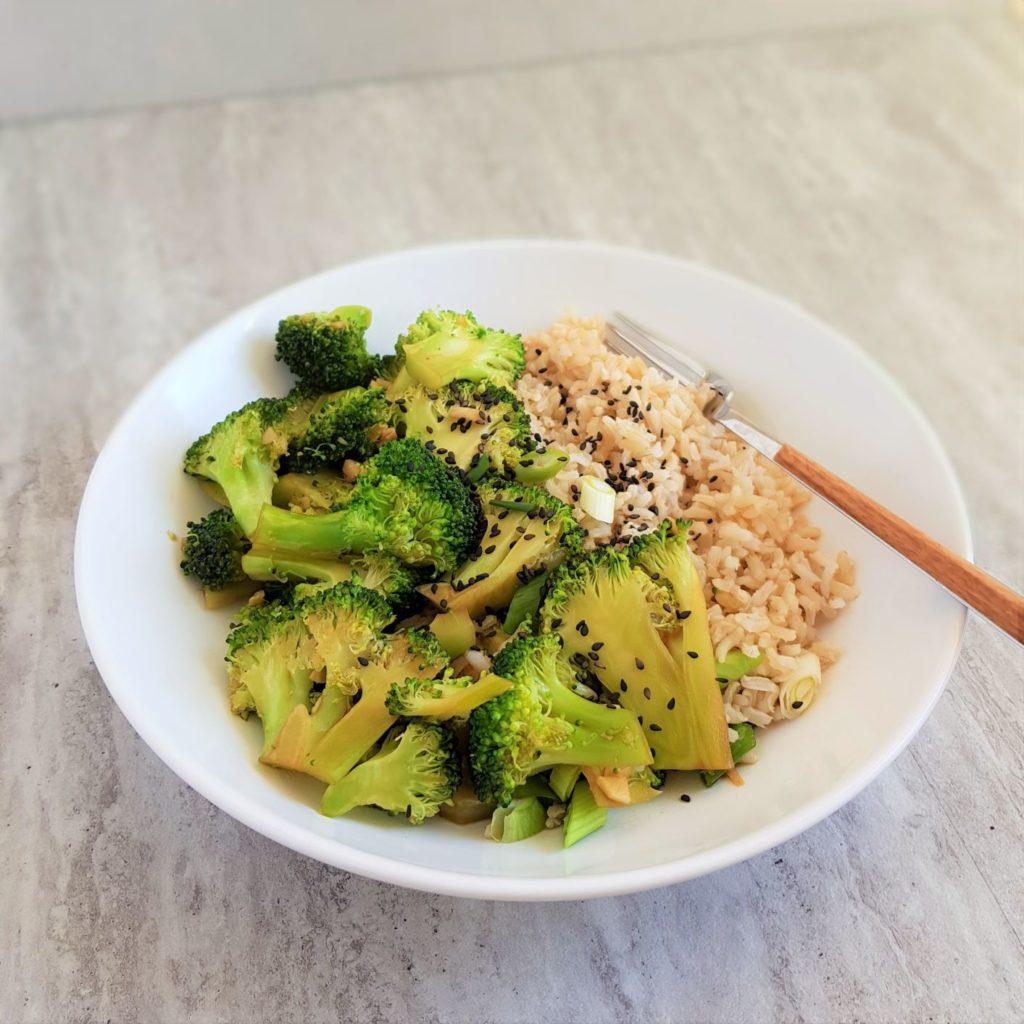 brokuły stir fry