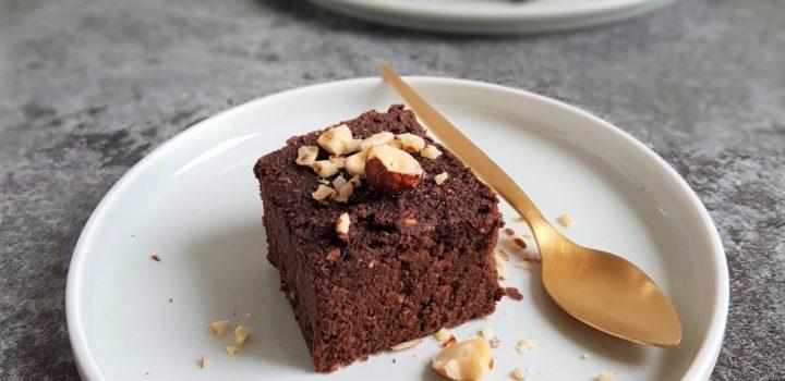 Obłędnie czekoladowe brownie z batatów