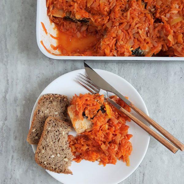 Warzywa a'la ryba po grecku