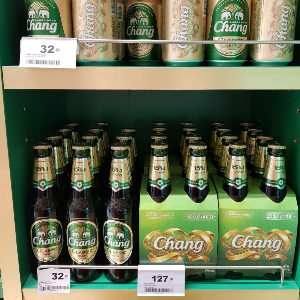 ceny w Bangkoku - piwo