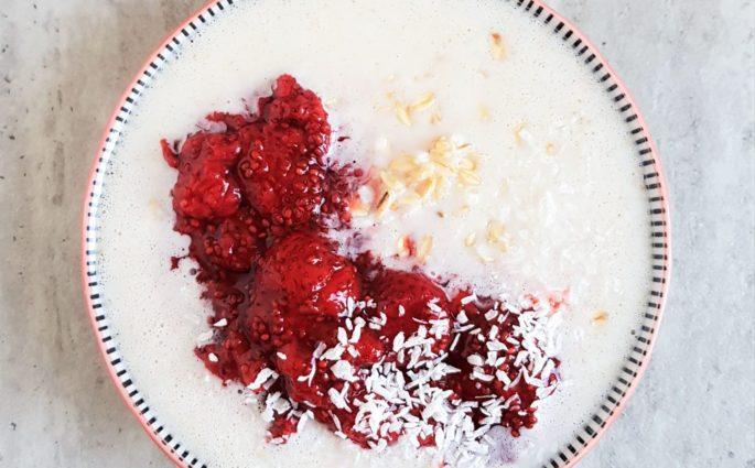 kokosowa owsianka