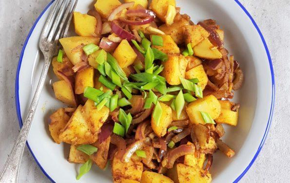 smażone ziemniaki z garam masala