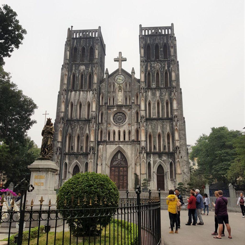 przewodnik po Hanoi - katedra Św Józefa