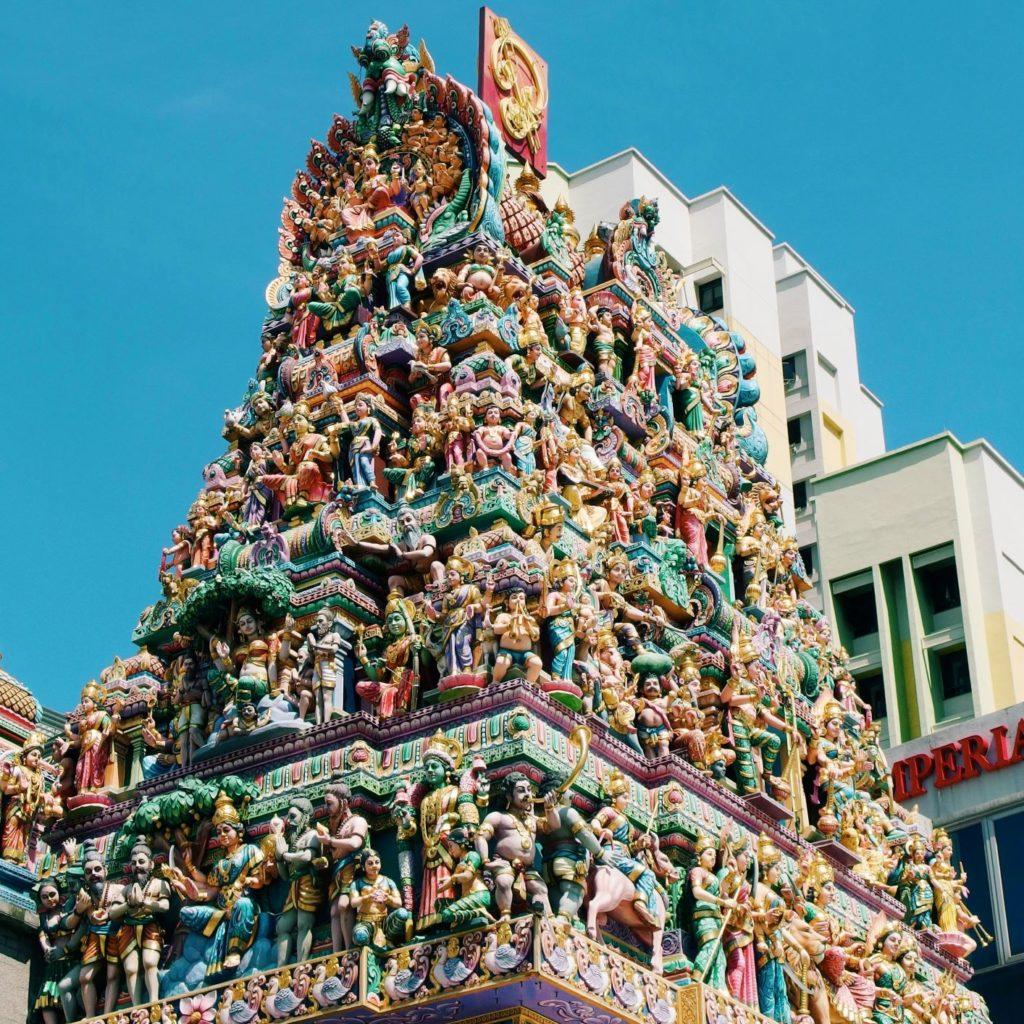 weekend w Singapurze świątynia