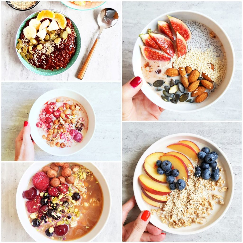 zbożowe śniadania