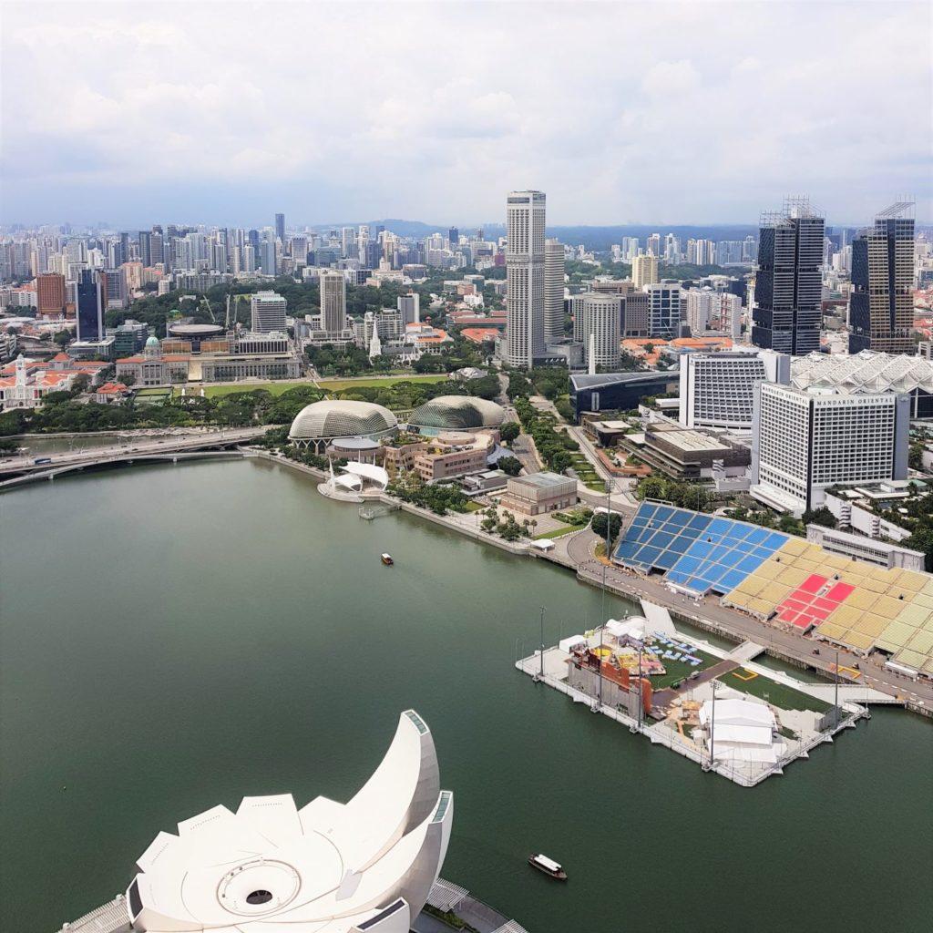 Singapur z góry