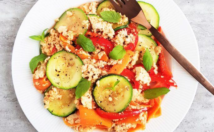 tofucznica z warzywami
