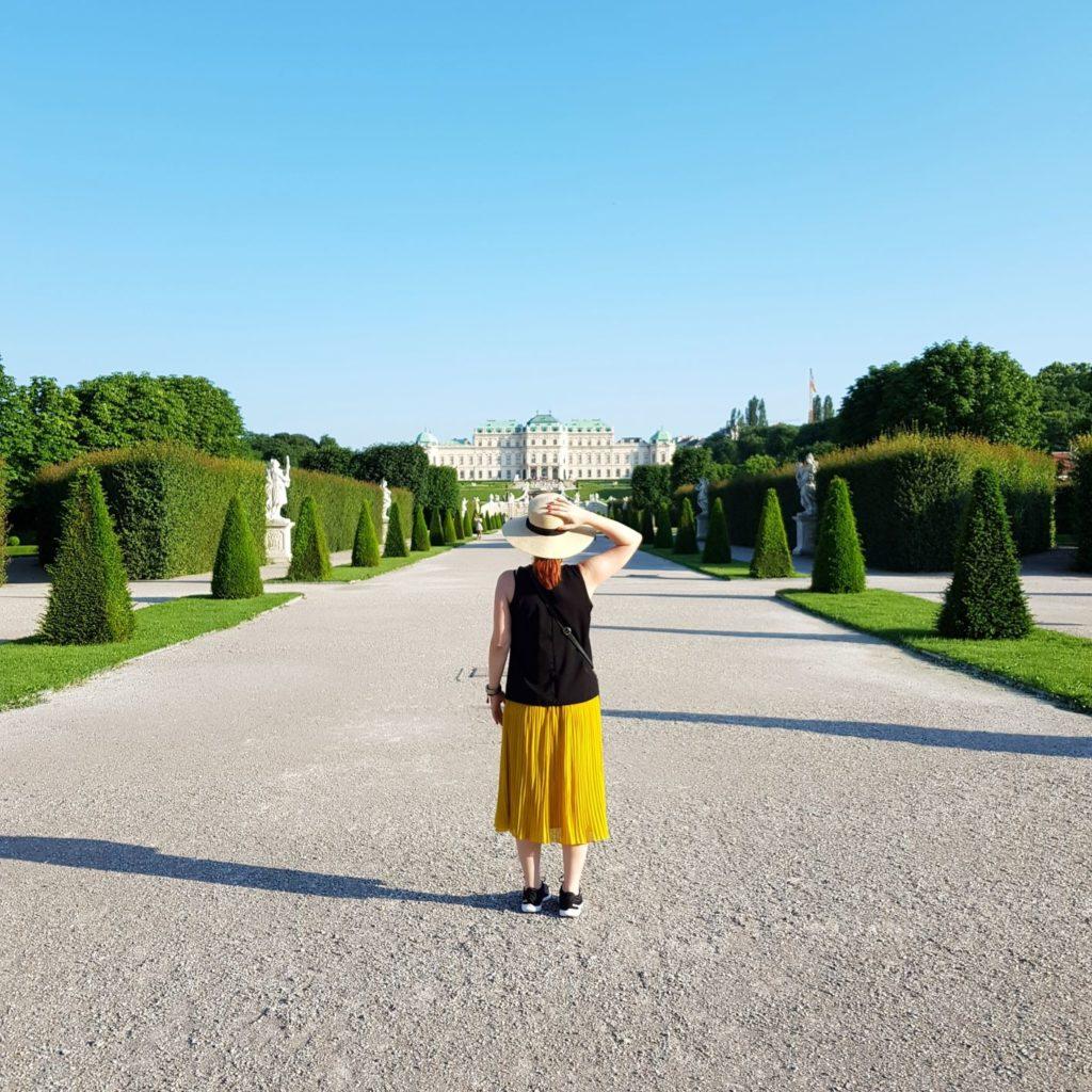 trzy dni w wiedniu belvedere