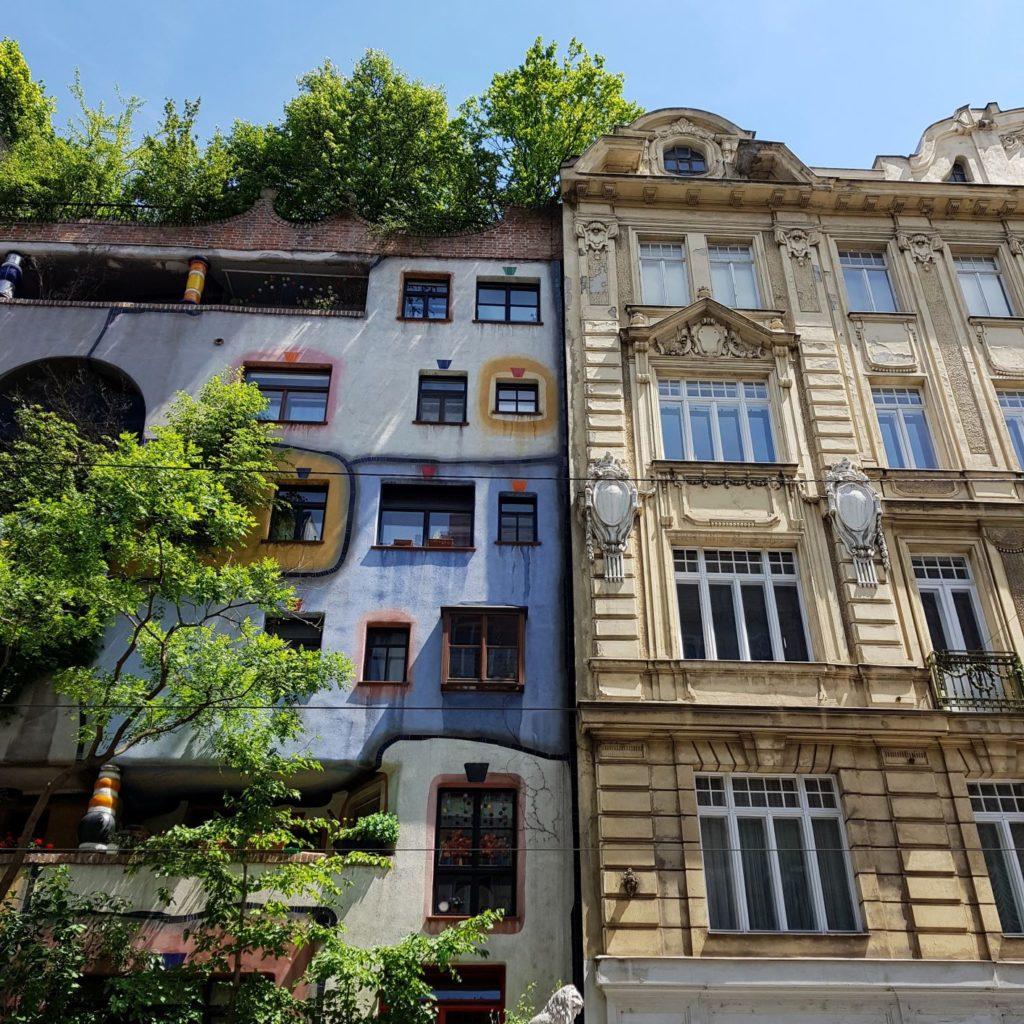 3 dni w Wiedniu Hundertwasserhaus