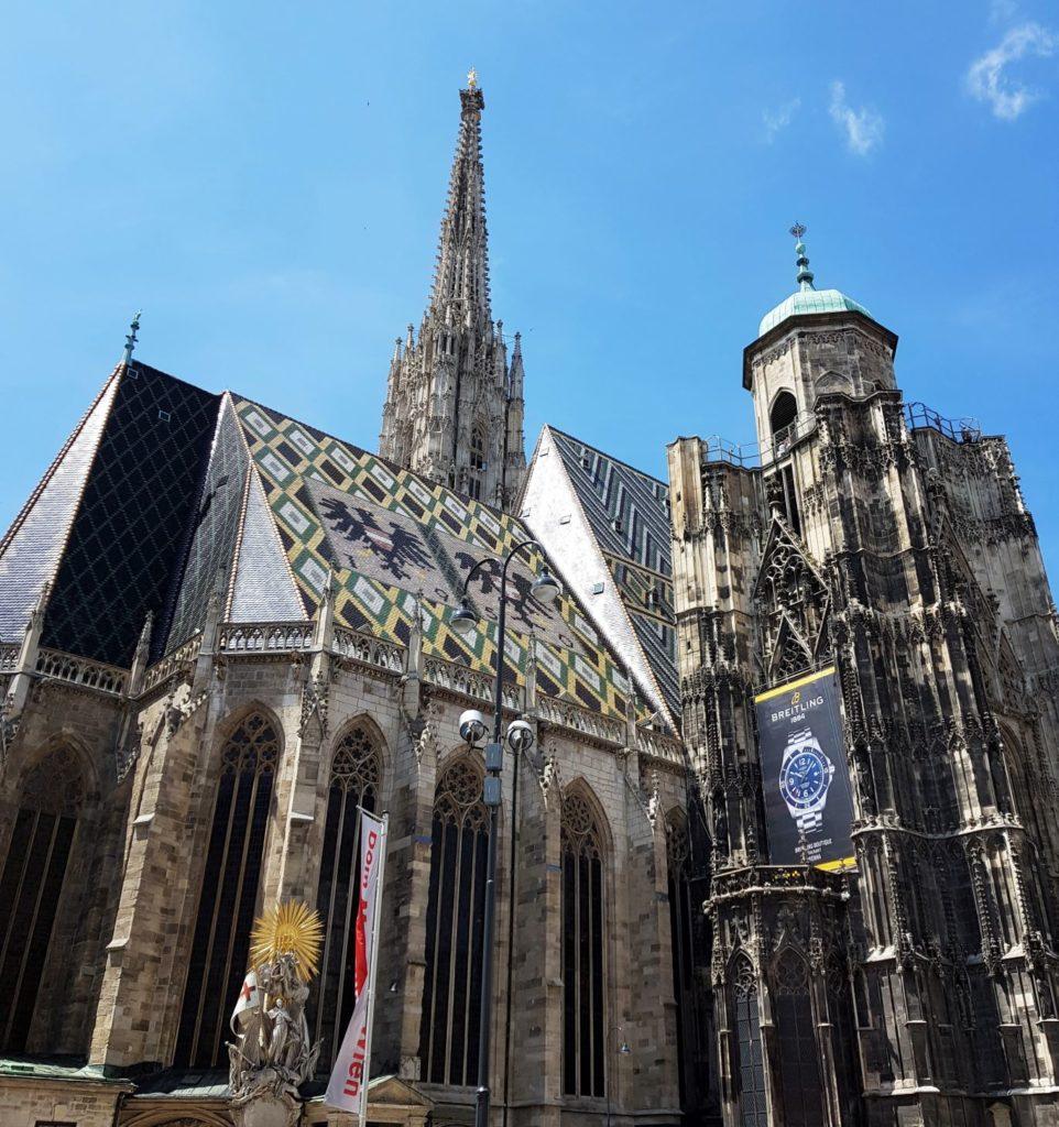 3 dzień w Wiedniu katedra z drugiej strony