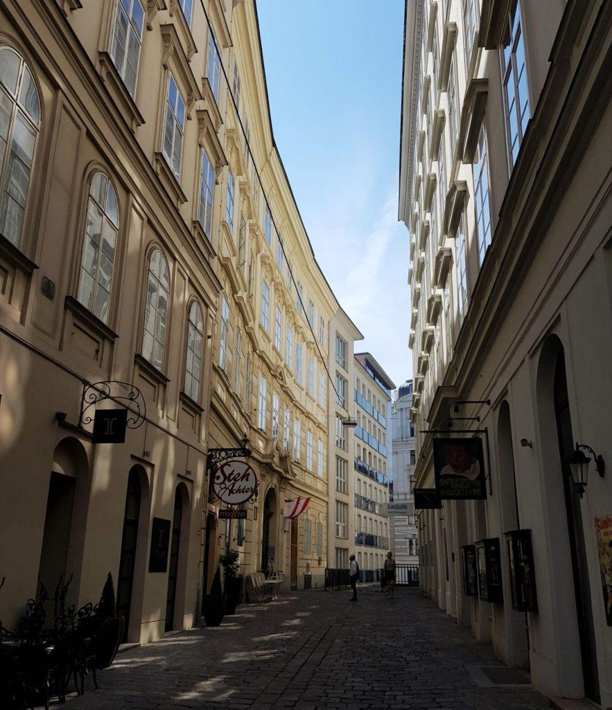 uliczki Wiednia