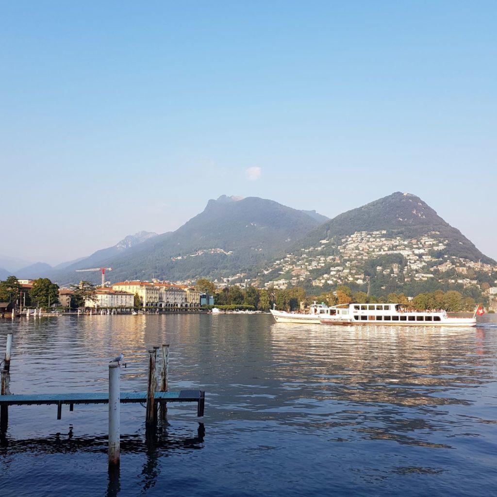 stateczek na Lugano