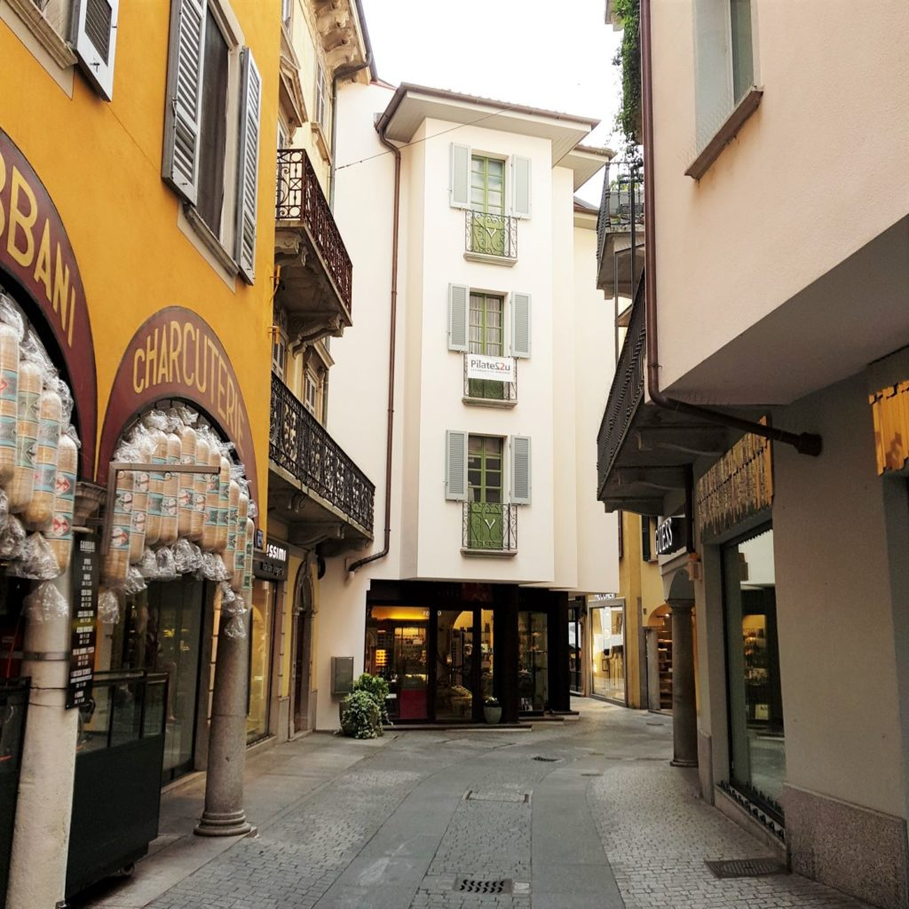 Uliczki Lugano