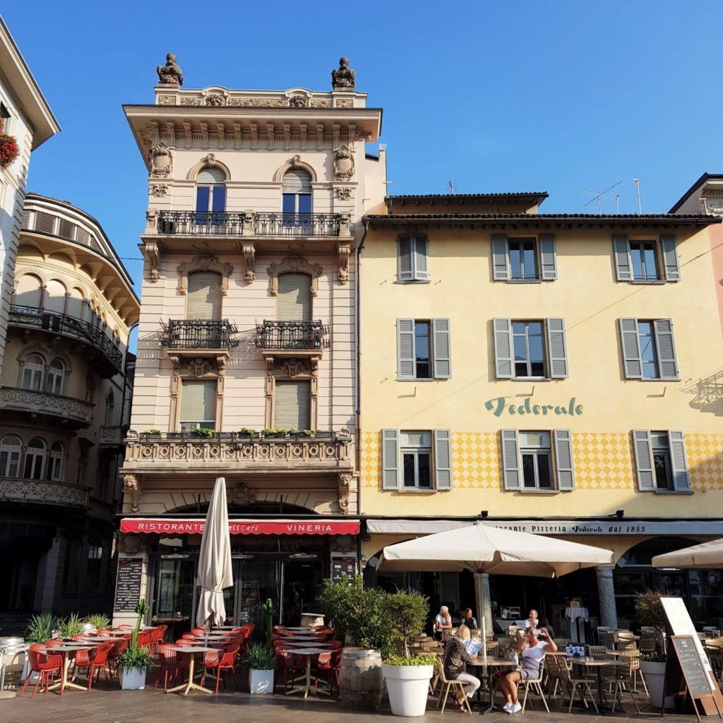 rynek w Lugano