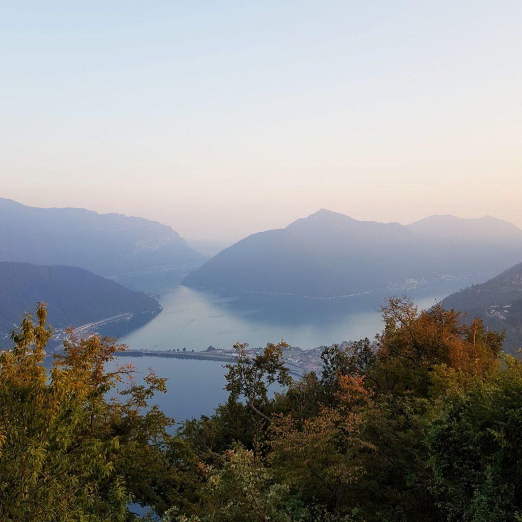 zachód słońca na San Salvatore