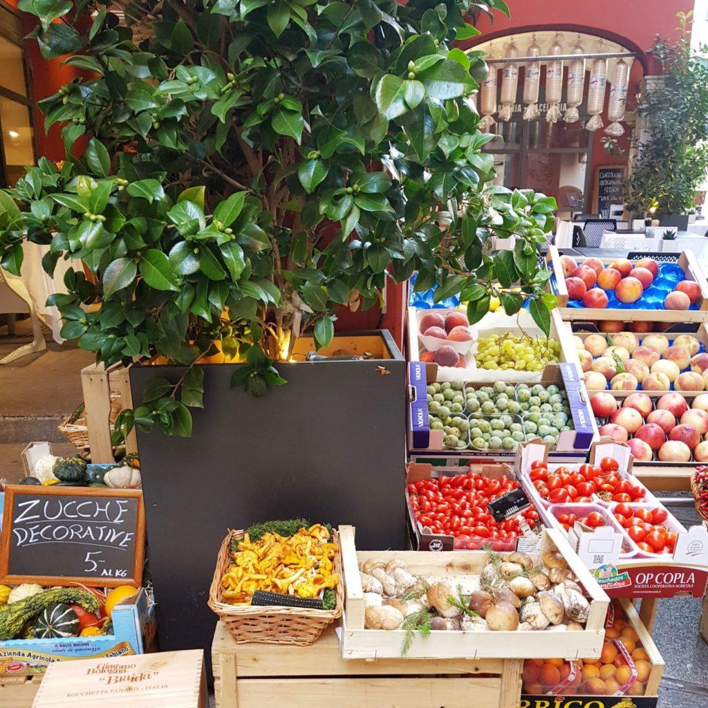 warzywa w Lugano