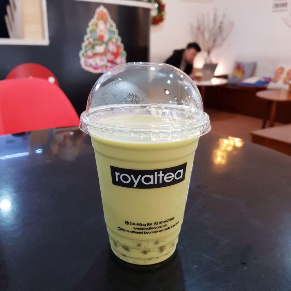 Matcha tea w Hanoi