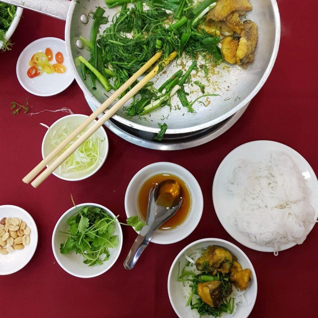 ryba w Hanoi