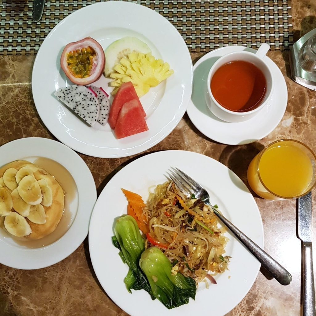 hotelowe śniadanie