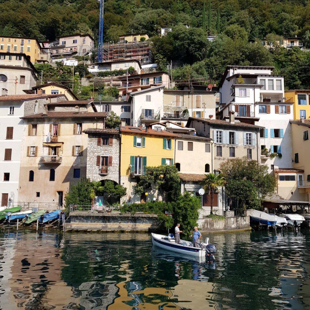 Gandria w Lugano Ticino