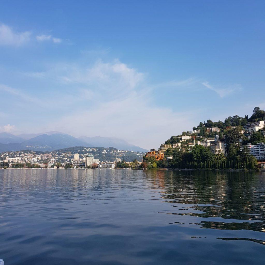Lugano ze statku
