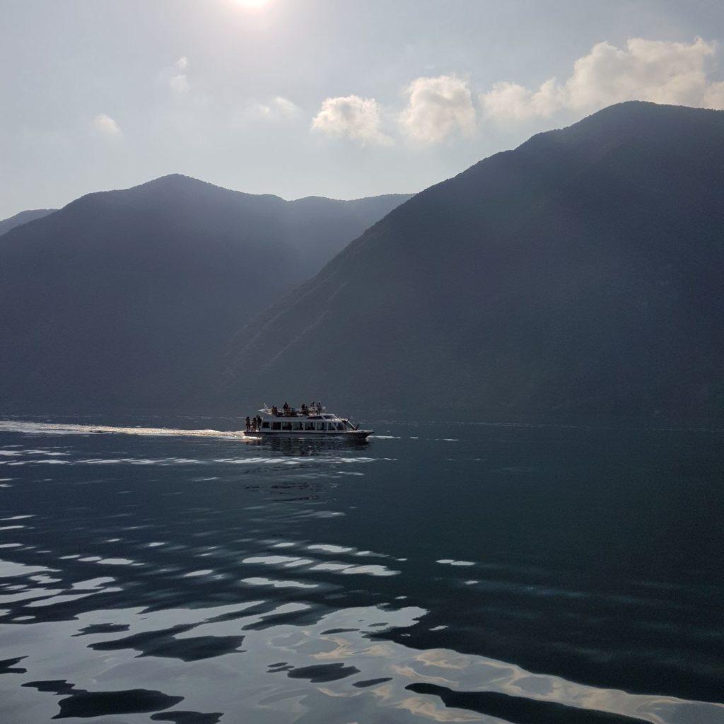 statkiem po Lugano