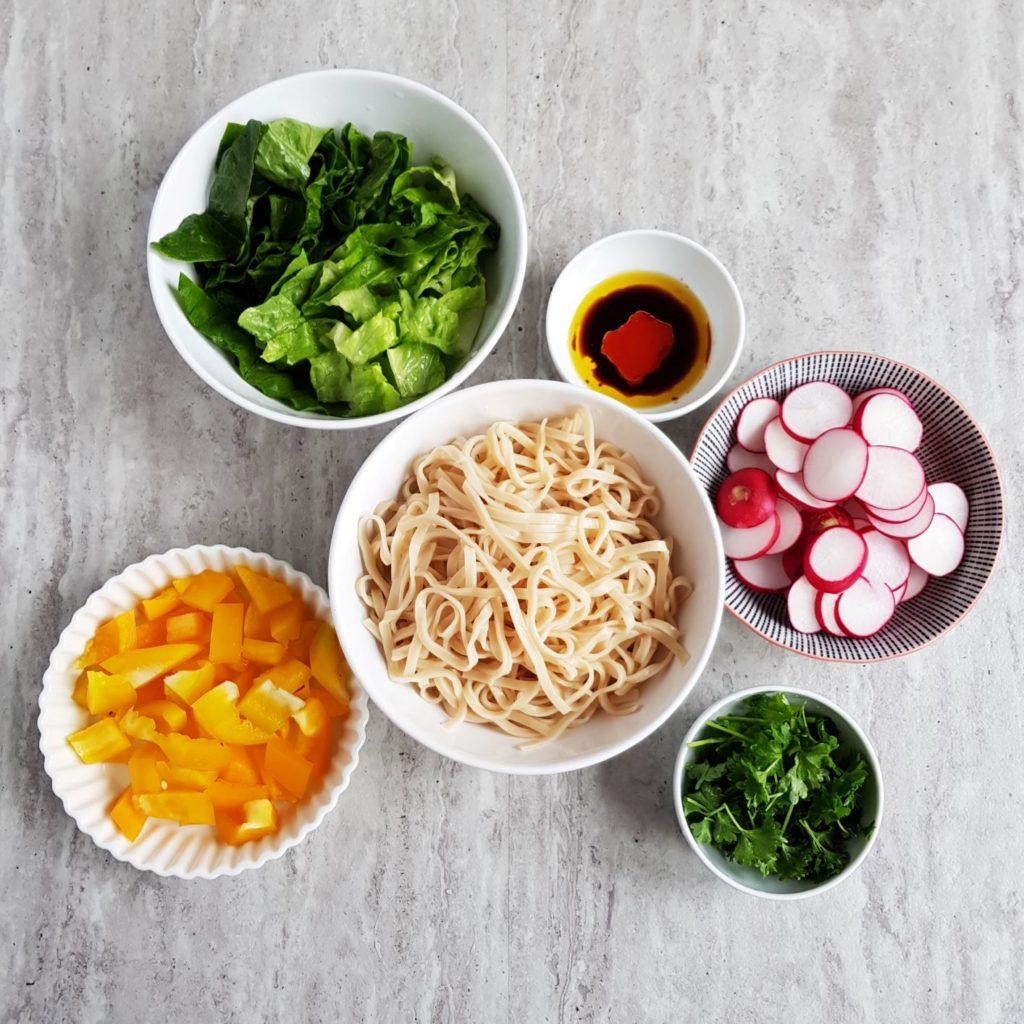 składniki na lunch