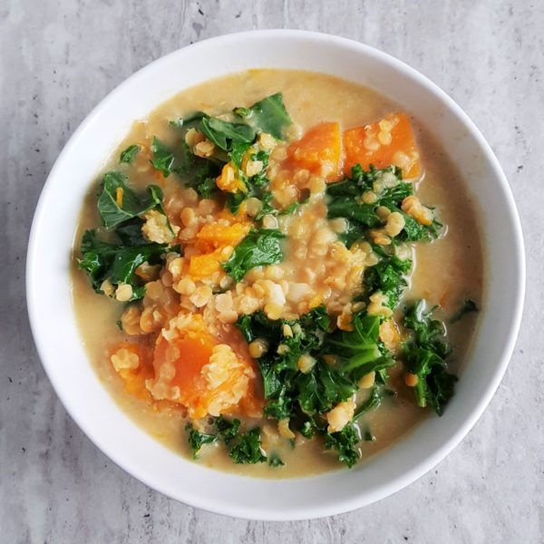 dyniowa zupa z curry