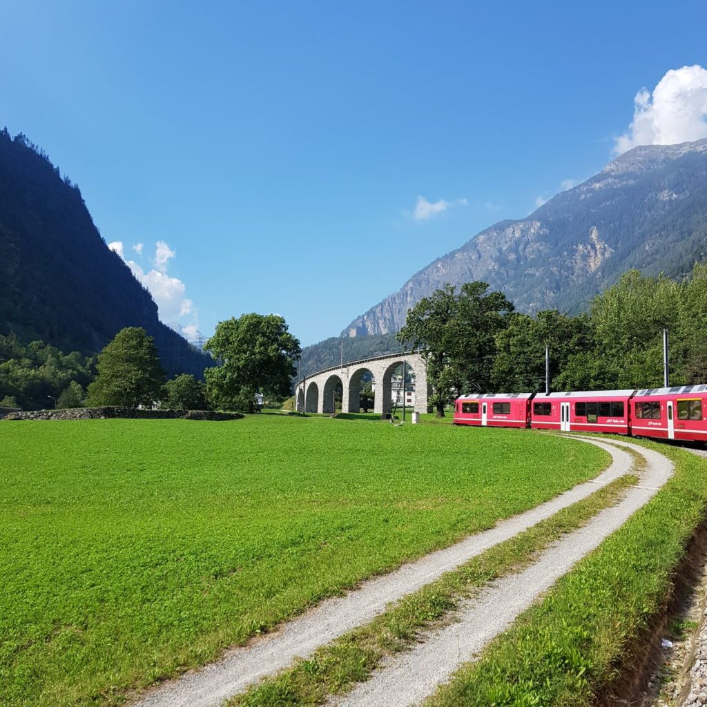 Bernina Express Wiadukt