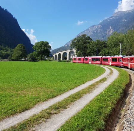 Pociągiem po Szwajcarii cz.1 | od Lugano do Alp Grum