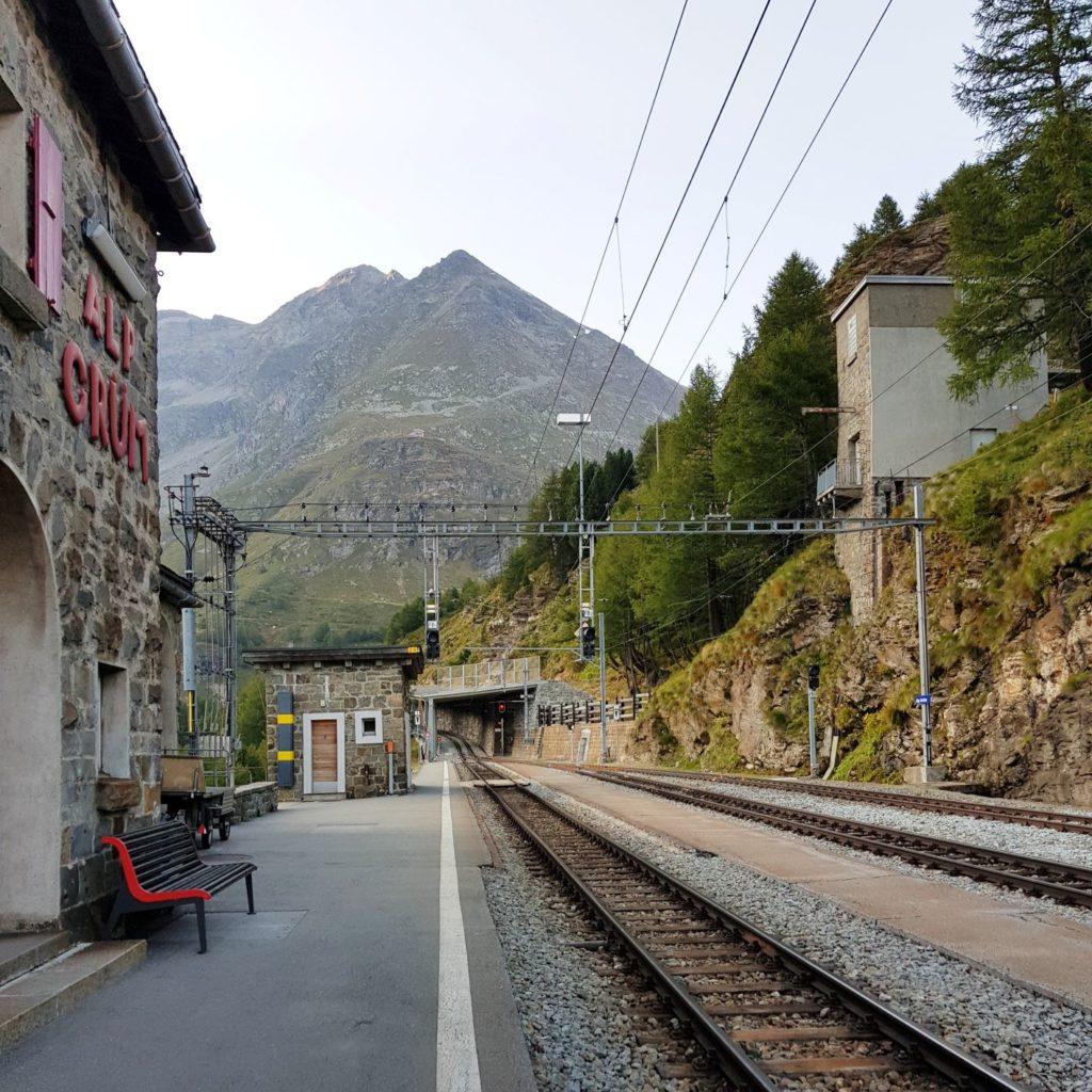 stacja Alp Grum