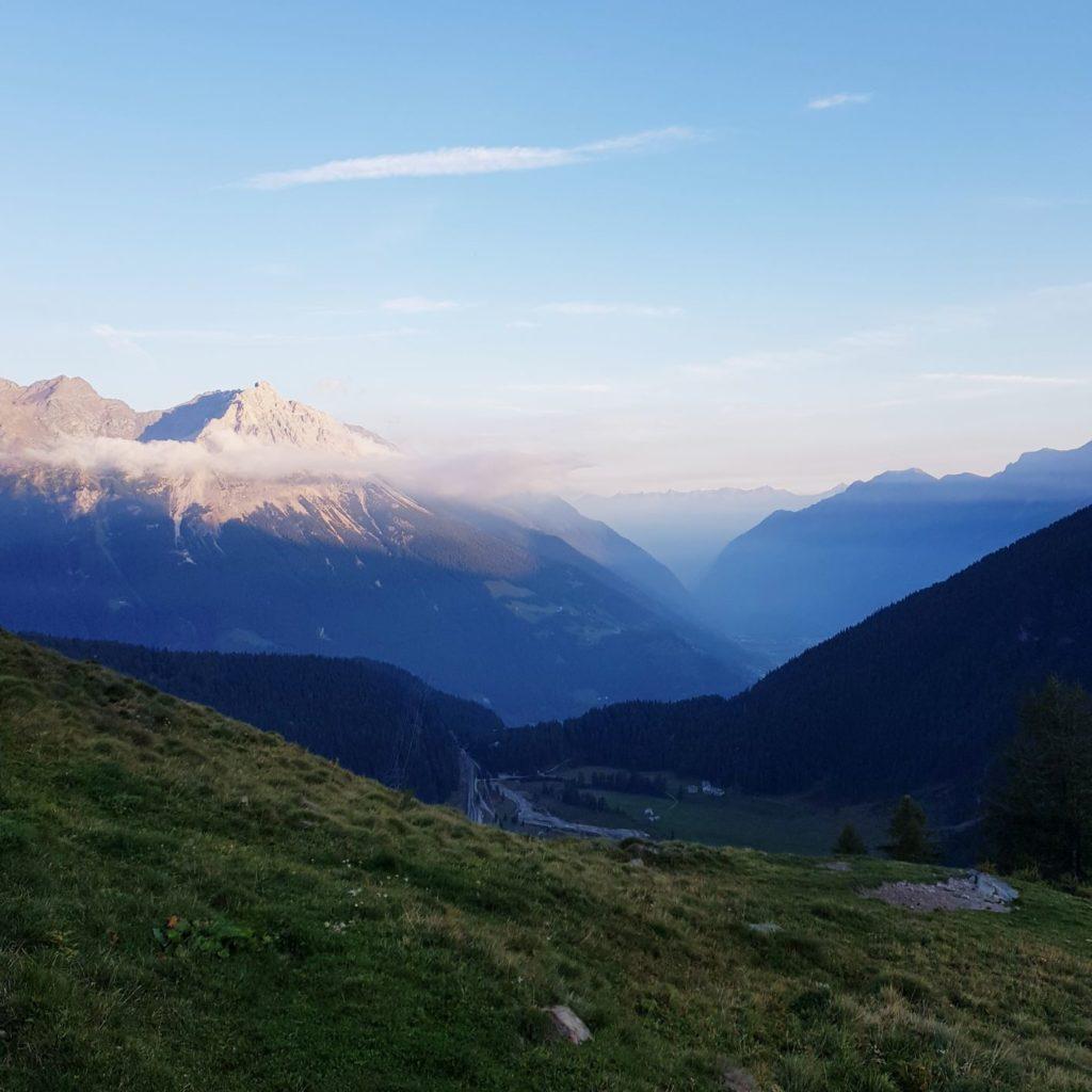 widok z Alp Grum