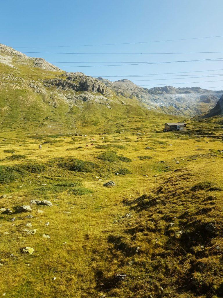 Alpy szwajcarskie w połowie września