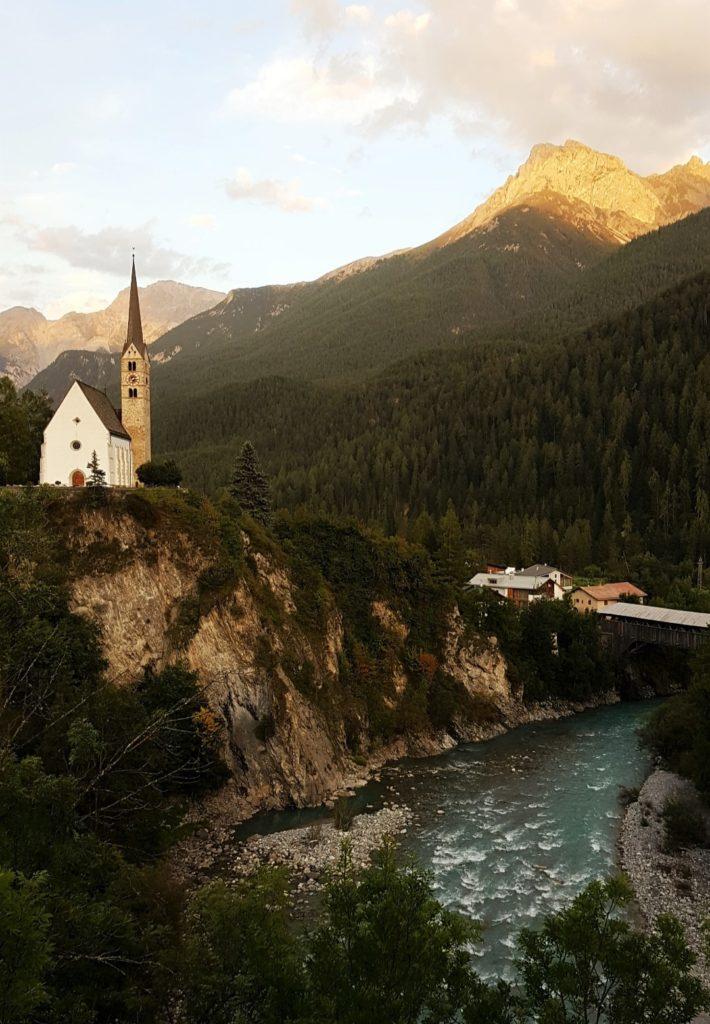 Bajkowe Scuol w Szwajcarii