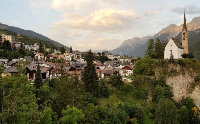 Bajkowe Scuol i Susch w Szwajcarii