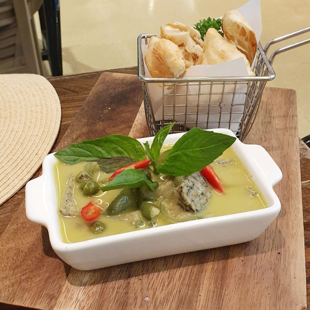 vegenerie green curry