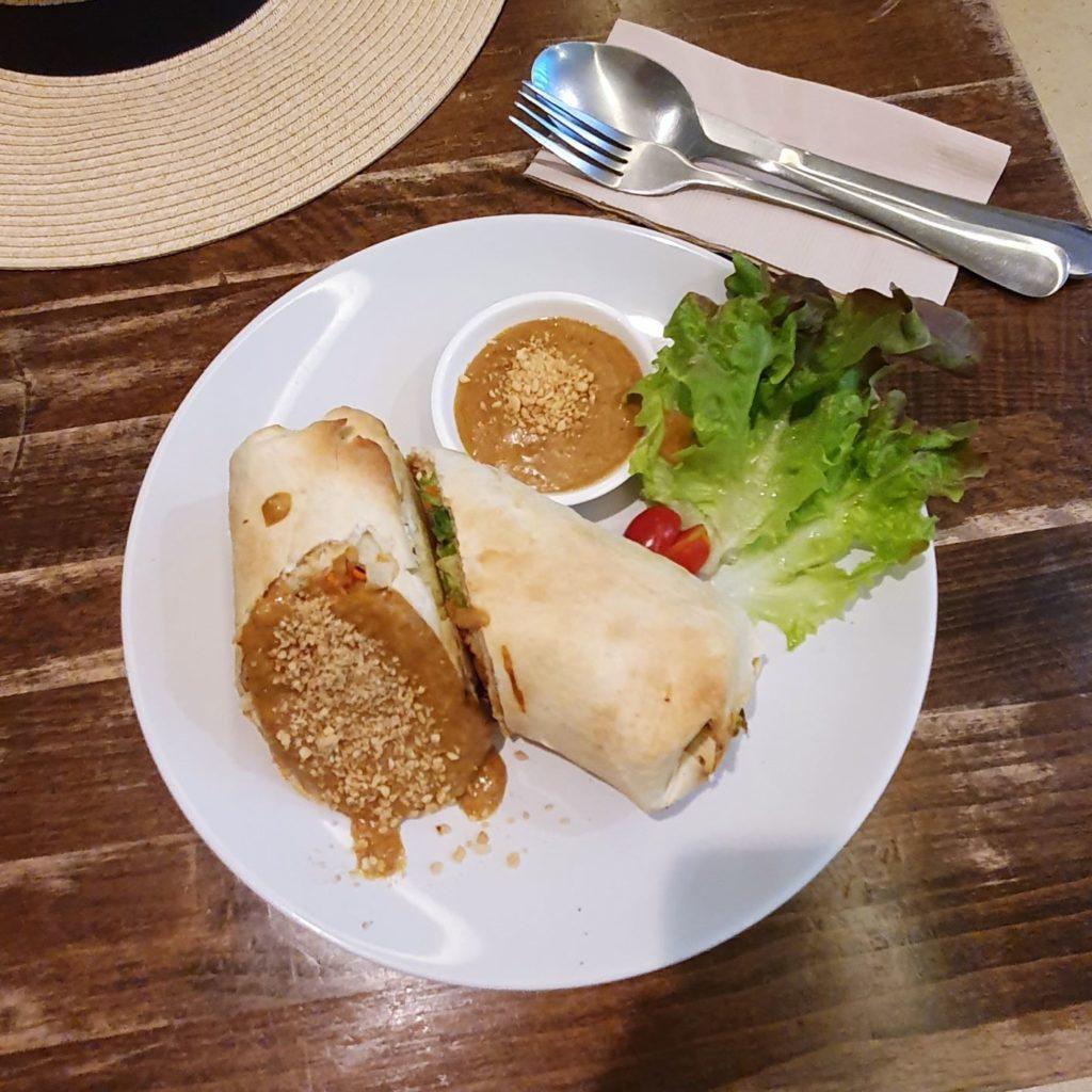 tofu wrap Vegenerie