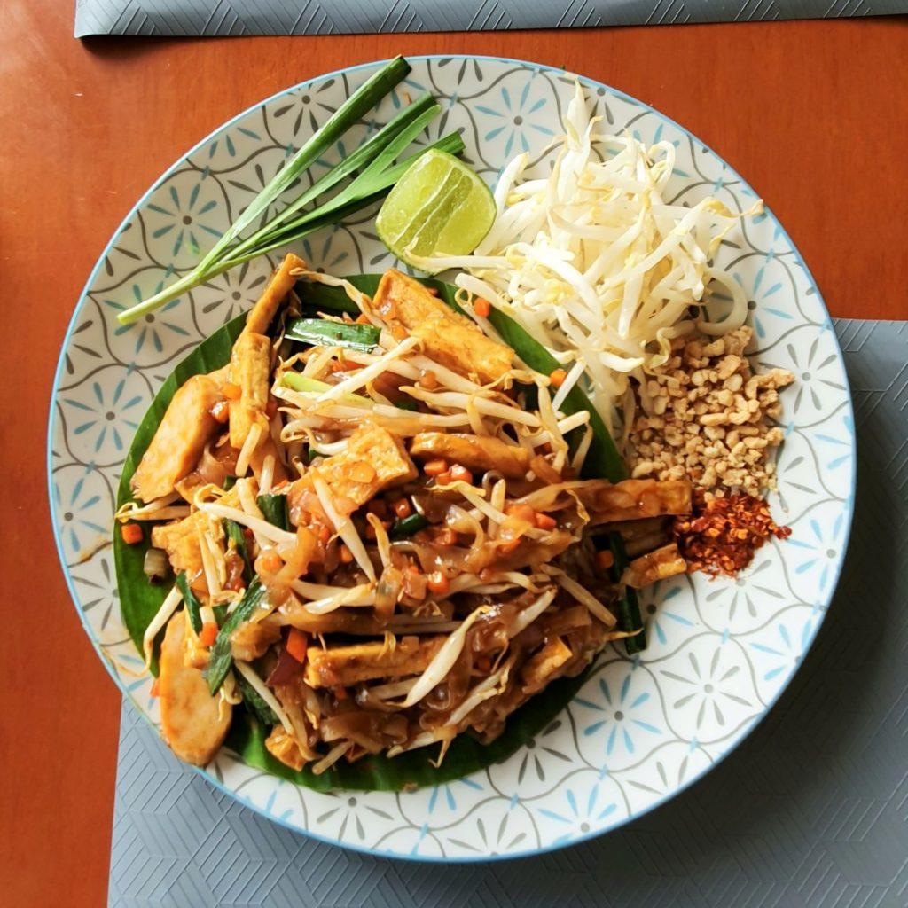 wegański Bangkok pad thai