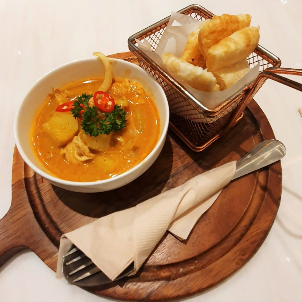 Vegenerie red curry
