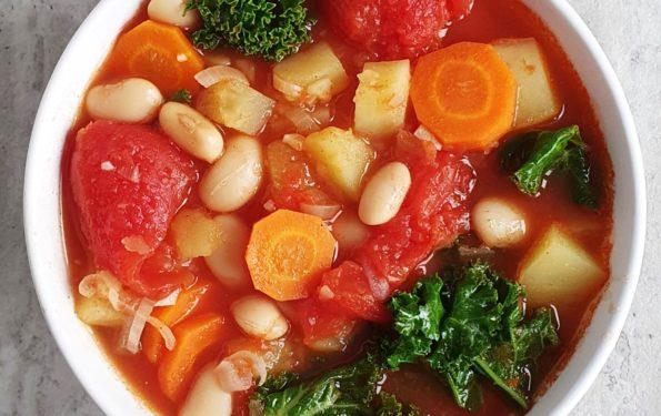 zupa warzywna z ziemniakami