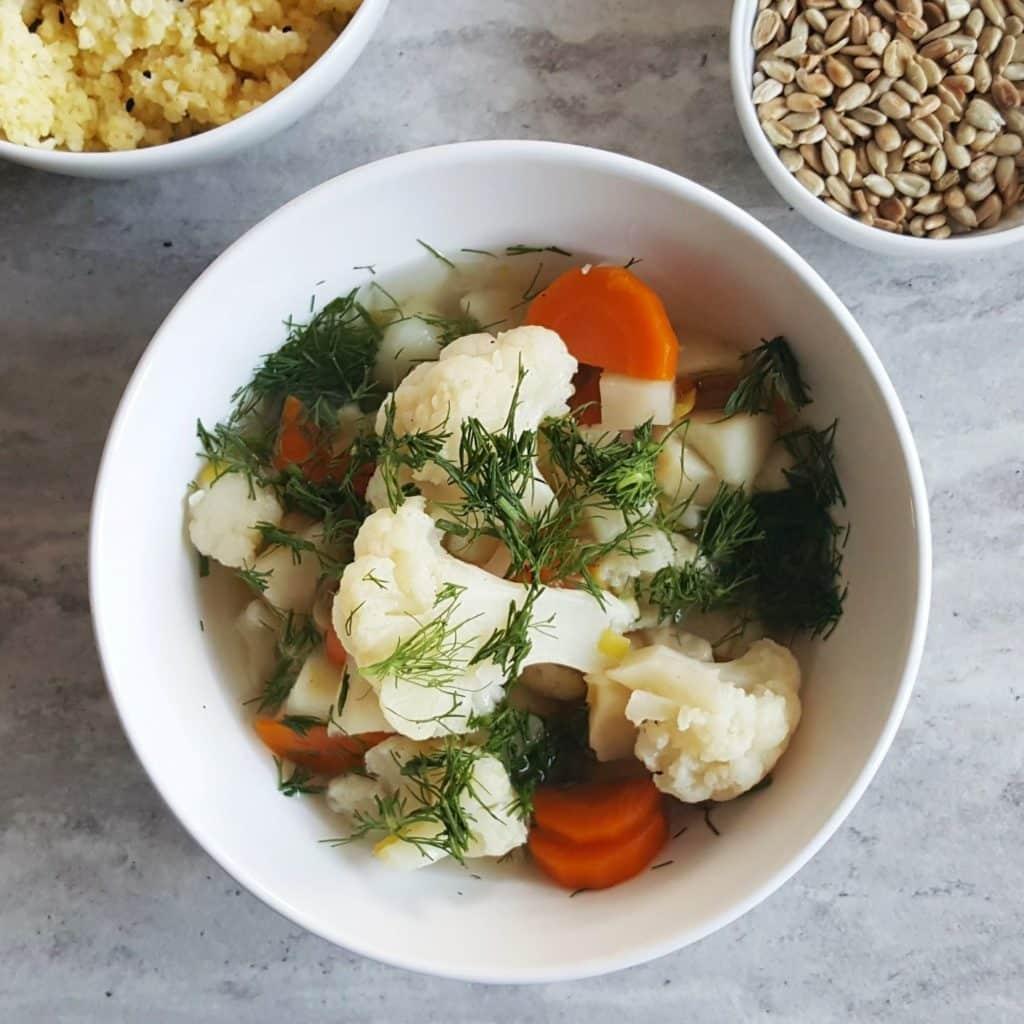 lekka zupa warzywna