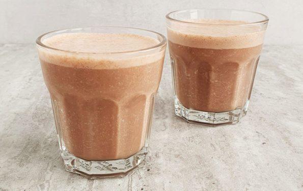 kawowy koktajl śniadaniowy