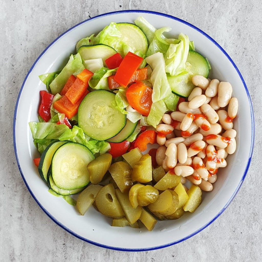 kolacja warzywna