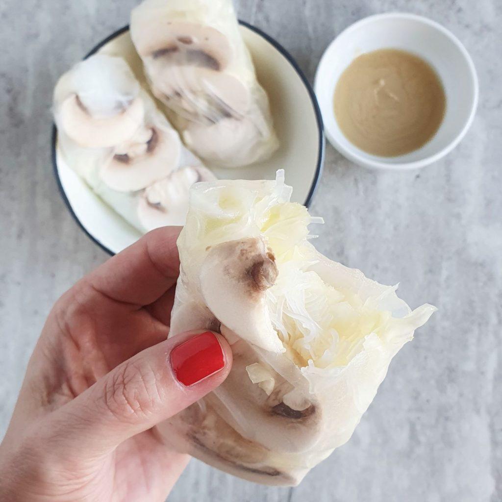 rolls w białej diecie