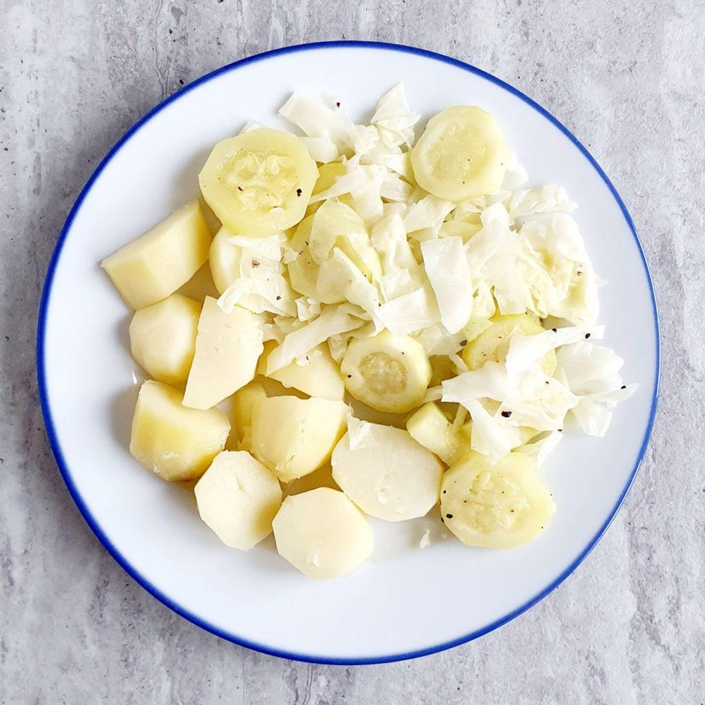 ziemniaki z cukinią