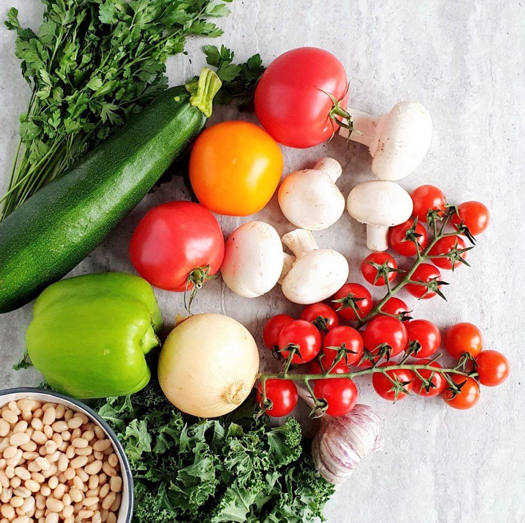składniki na gulasz warzywny
